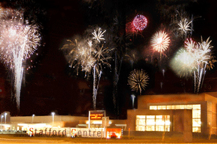 The Stafford Centre Fireworks
