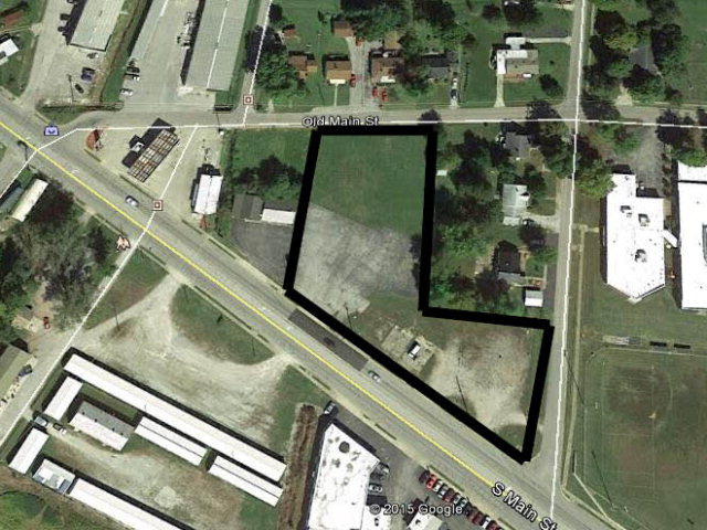 Main Photo For Commercial Lot with Access to 3 Streets