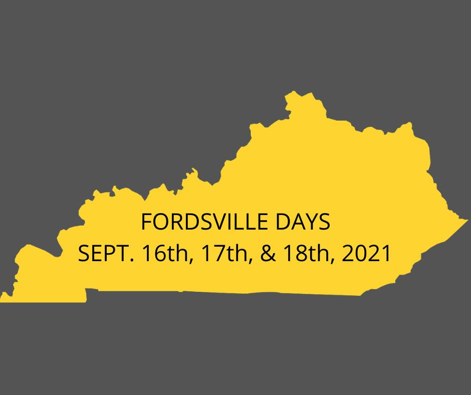 Fordsville Days Fundraiser Photo