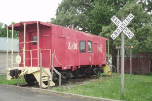 Thumbnail Image For L&N Caboose - Click Here To See