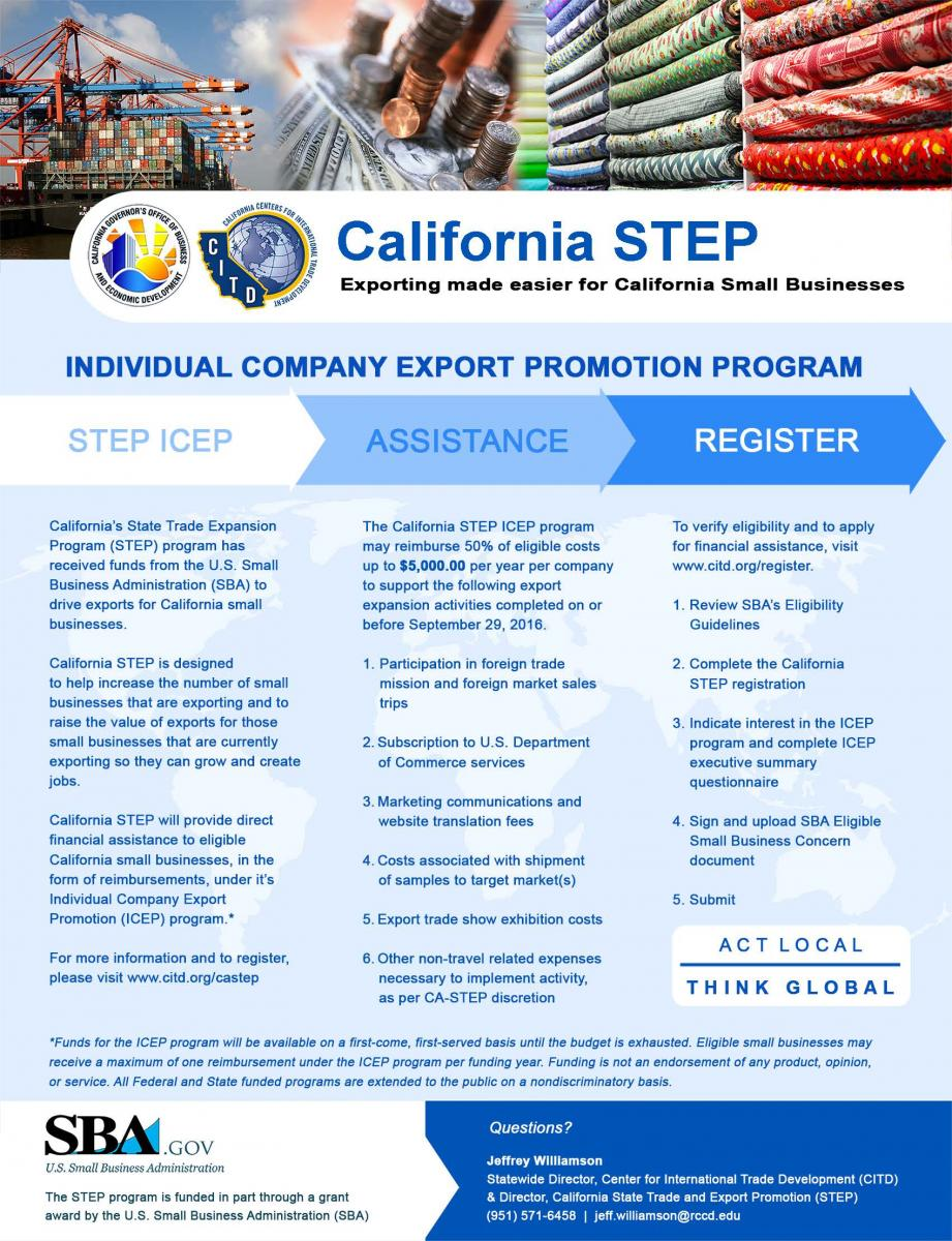 Thumbnail Image For California STEP Program - Click Here To See