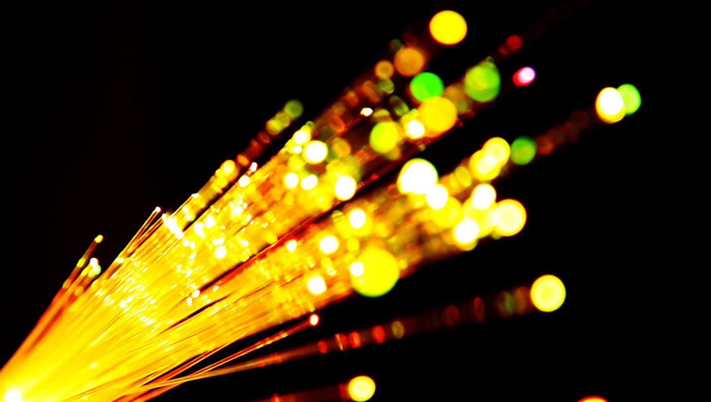 fiber optic wires