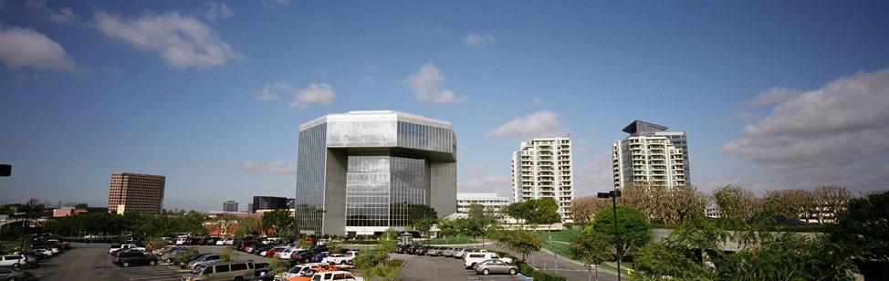 Irvine, CA business buildings