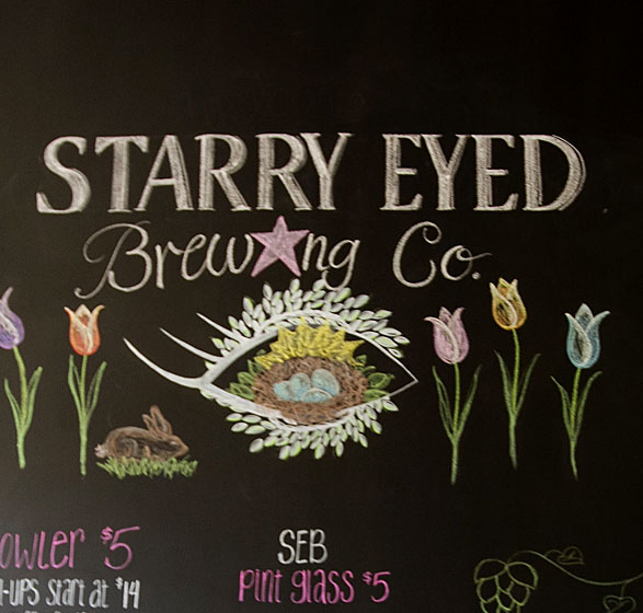 starry eyes brewing co menu