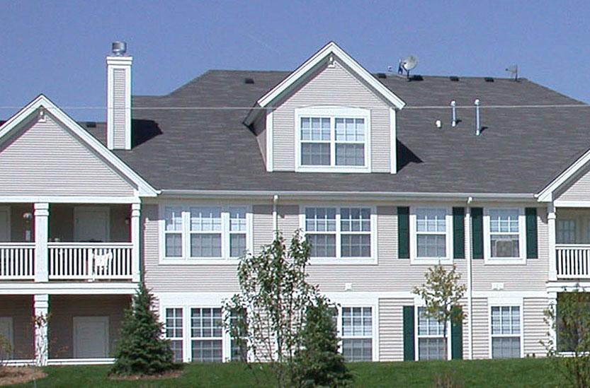 multi-family housing exterior