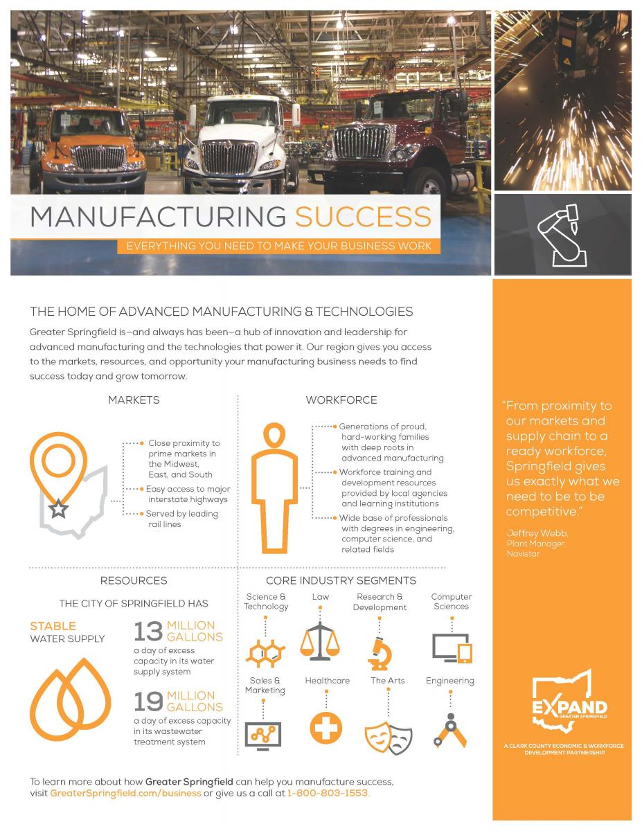 Manufacturing Fact Sheet
