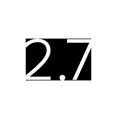 $2.7 BillionBudget Reserve