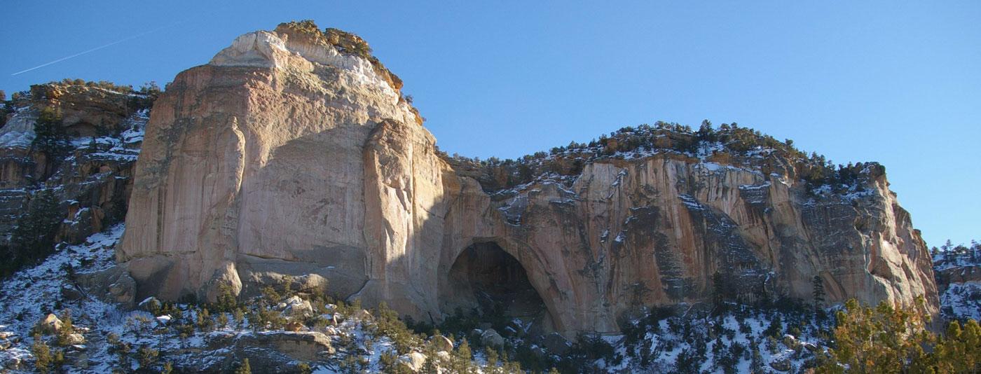 Malpais arch