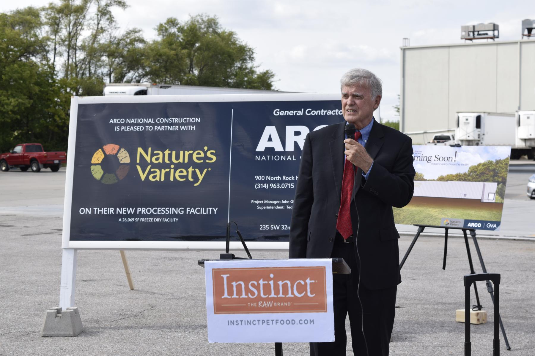 Nature's Variety Breaks Ground to Expand in Lincoln Photo